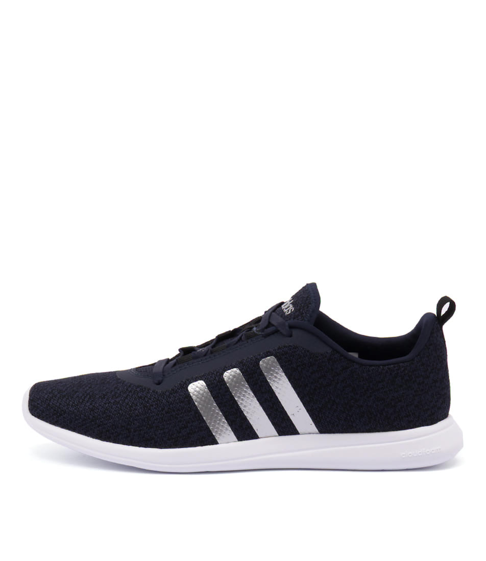 san francisco 3922e d0d04 ... france cloudfoam pure navy silver bla fabric by adidas neo at  styletread 9cb65 08aa9