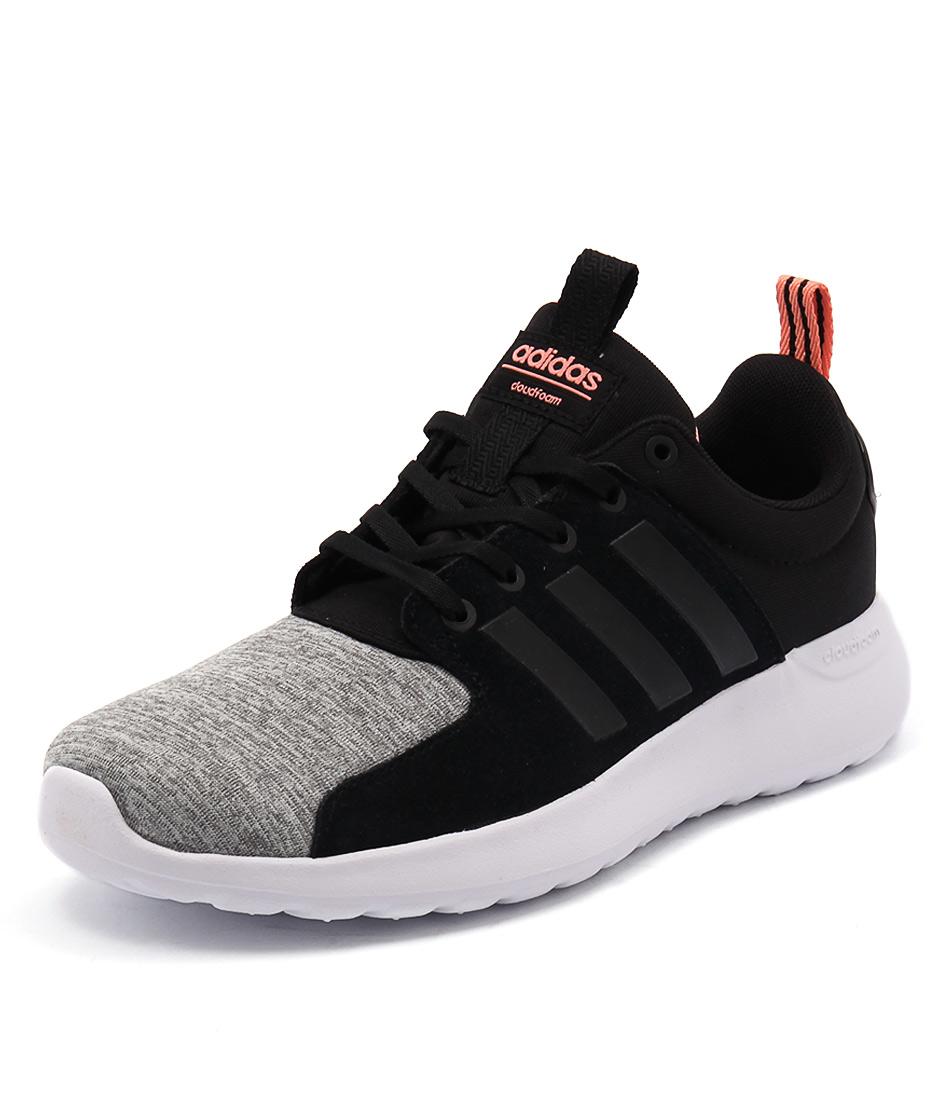 Adidas Neo Cloudfoam Lite Racer Onix-Black-Sunglow Sneakers