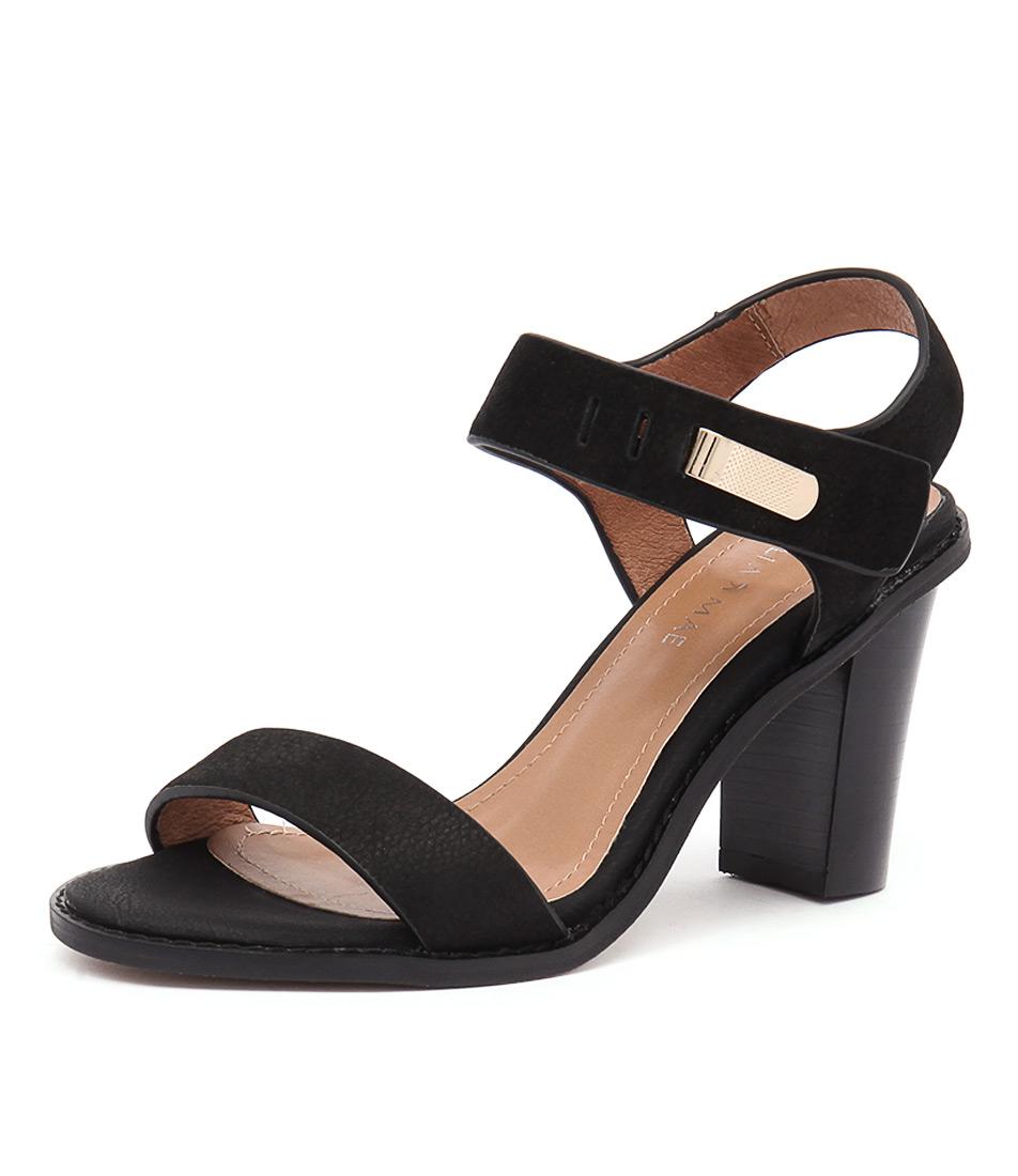 Alias Mae Erina Black Sandals