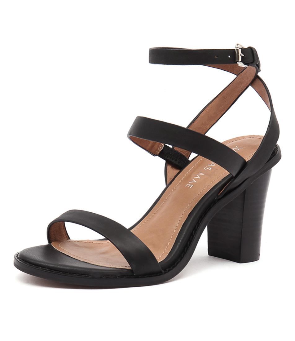 Alias Mae Erma Black Sandals