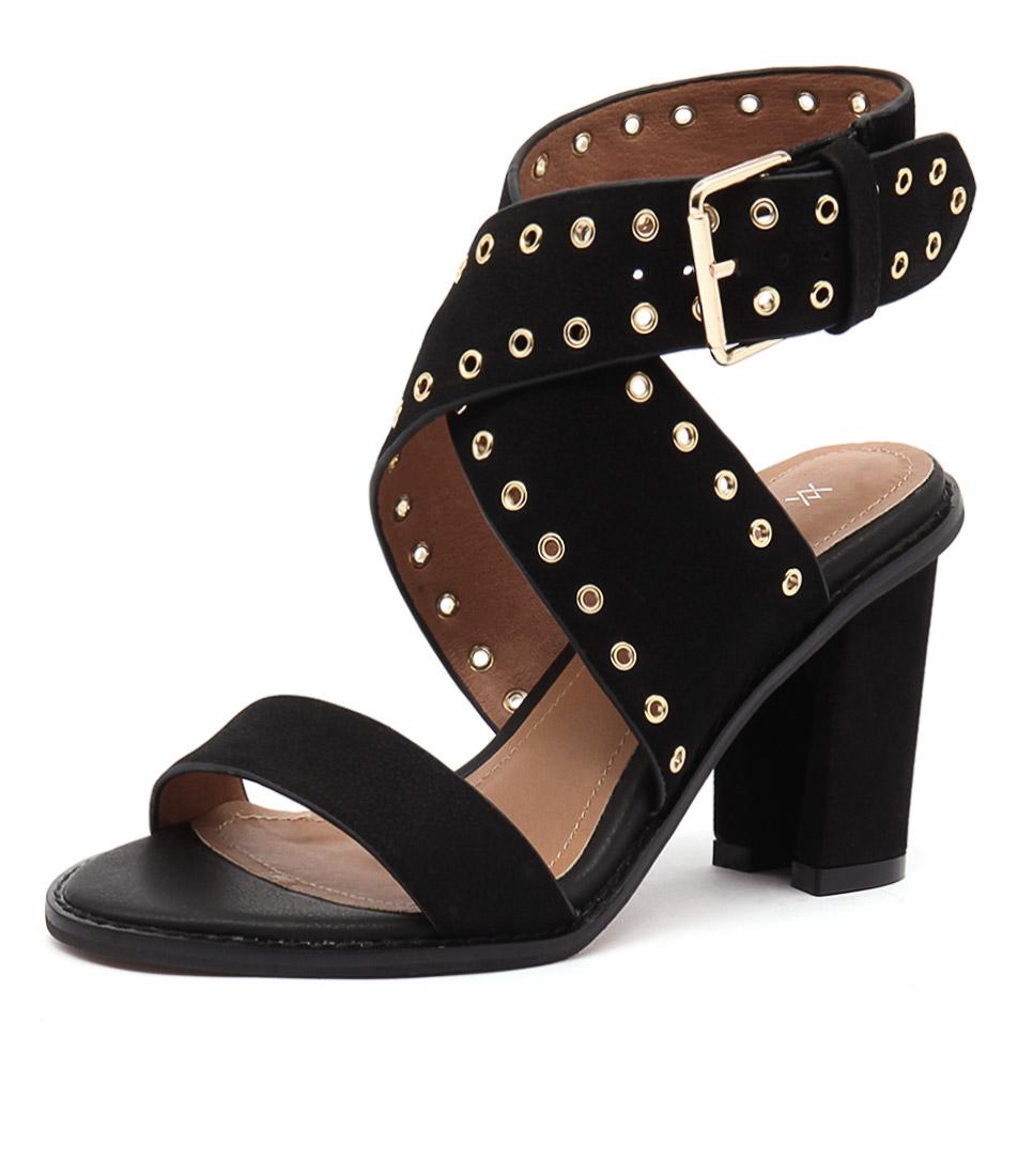 Alias Mae Eliah Black Sandals