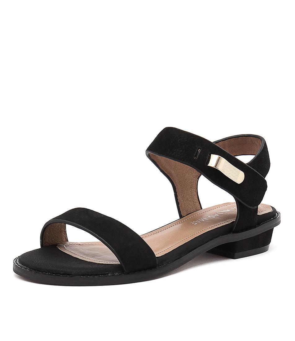 Alias Mae Livina Black Sandals