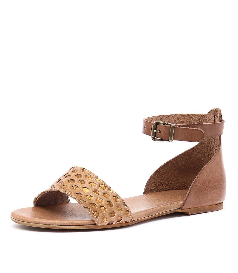 Beltrami Gabriela Cuoio Sandals