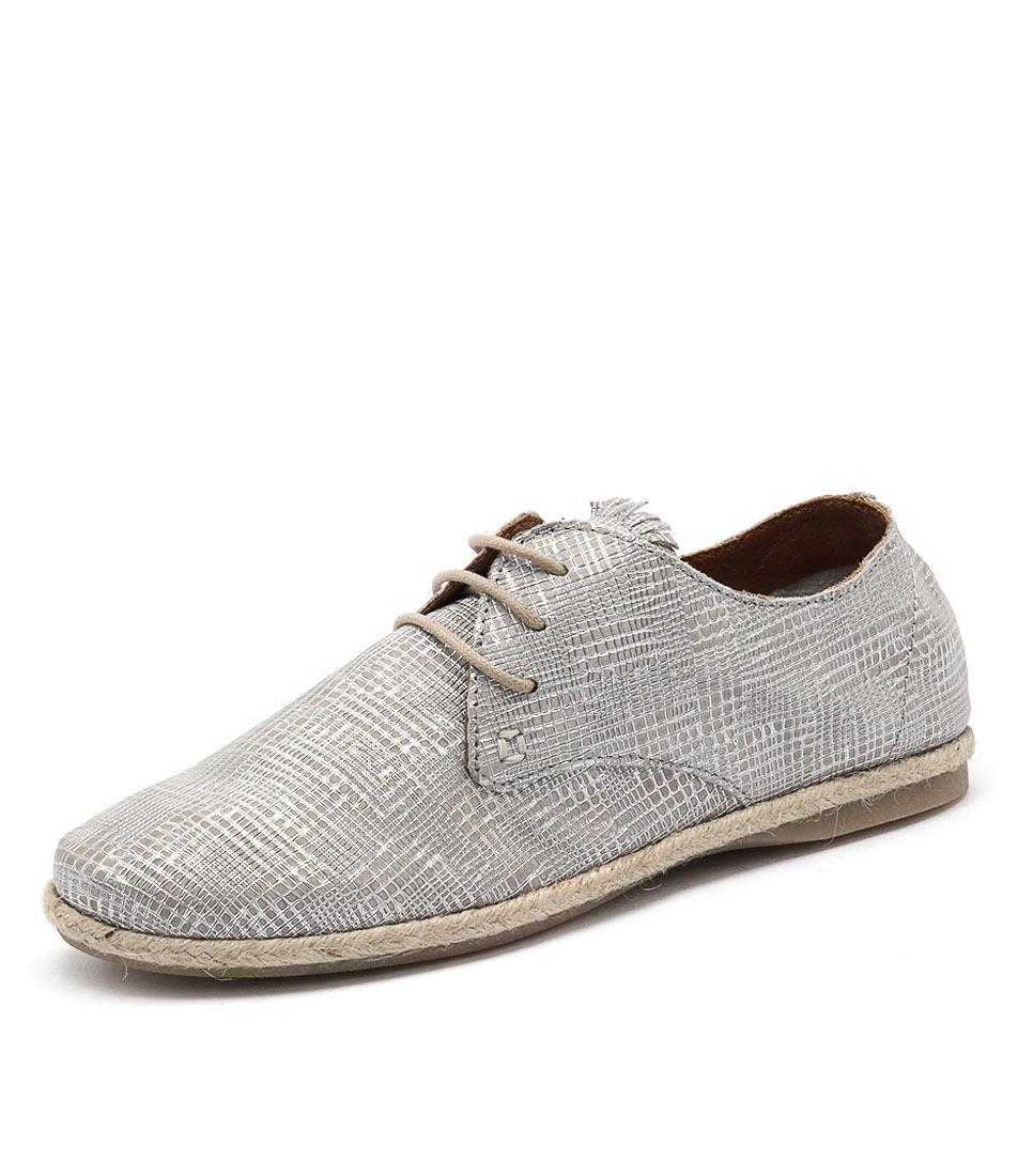 Beltrami Fredie Silver Shoes