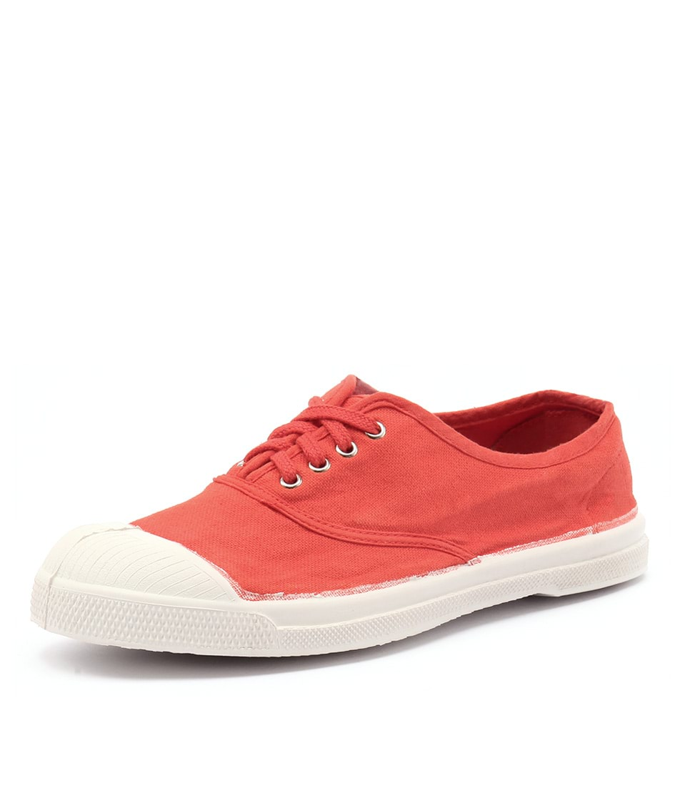 Bensimon Lacet Red Sneakers