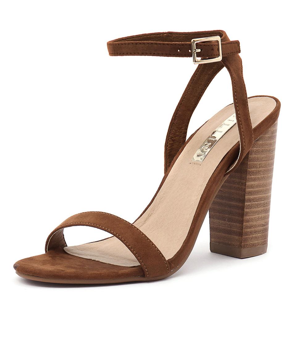 Billini Paris Dark Tan Sandals