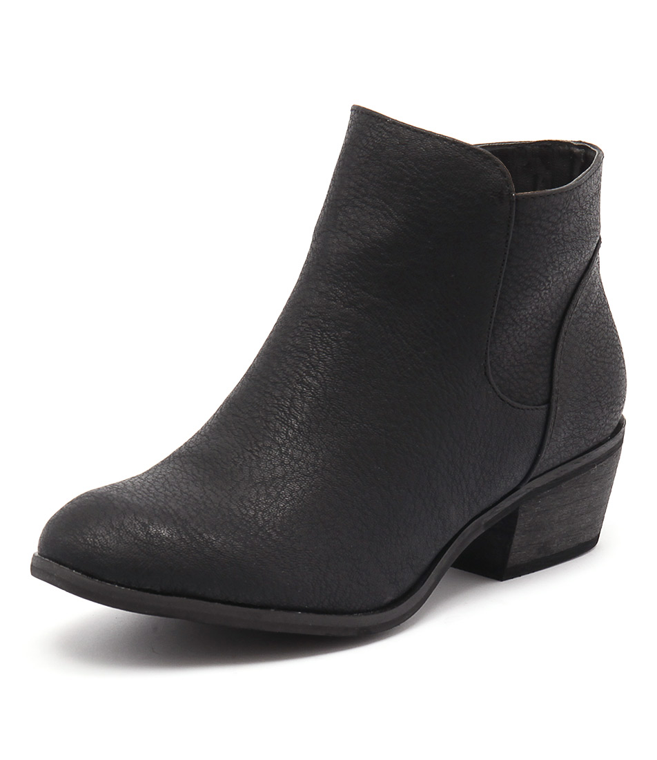 Billini Haven Black Tumble Boots