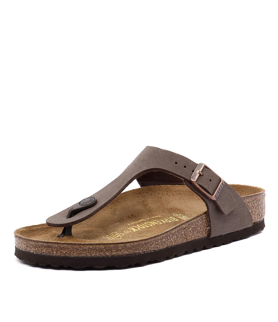 Birkenstock Gizeh Mocca Birko-Flor Sandals