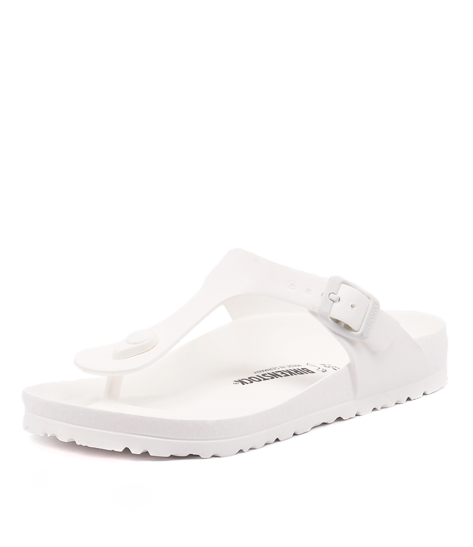 Birkenstock Gizeh EVA White Sandals