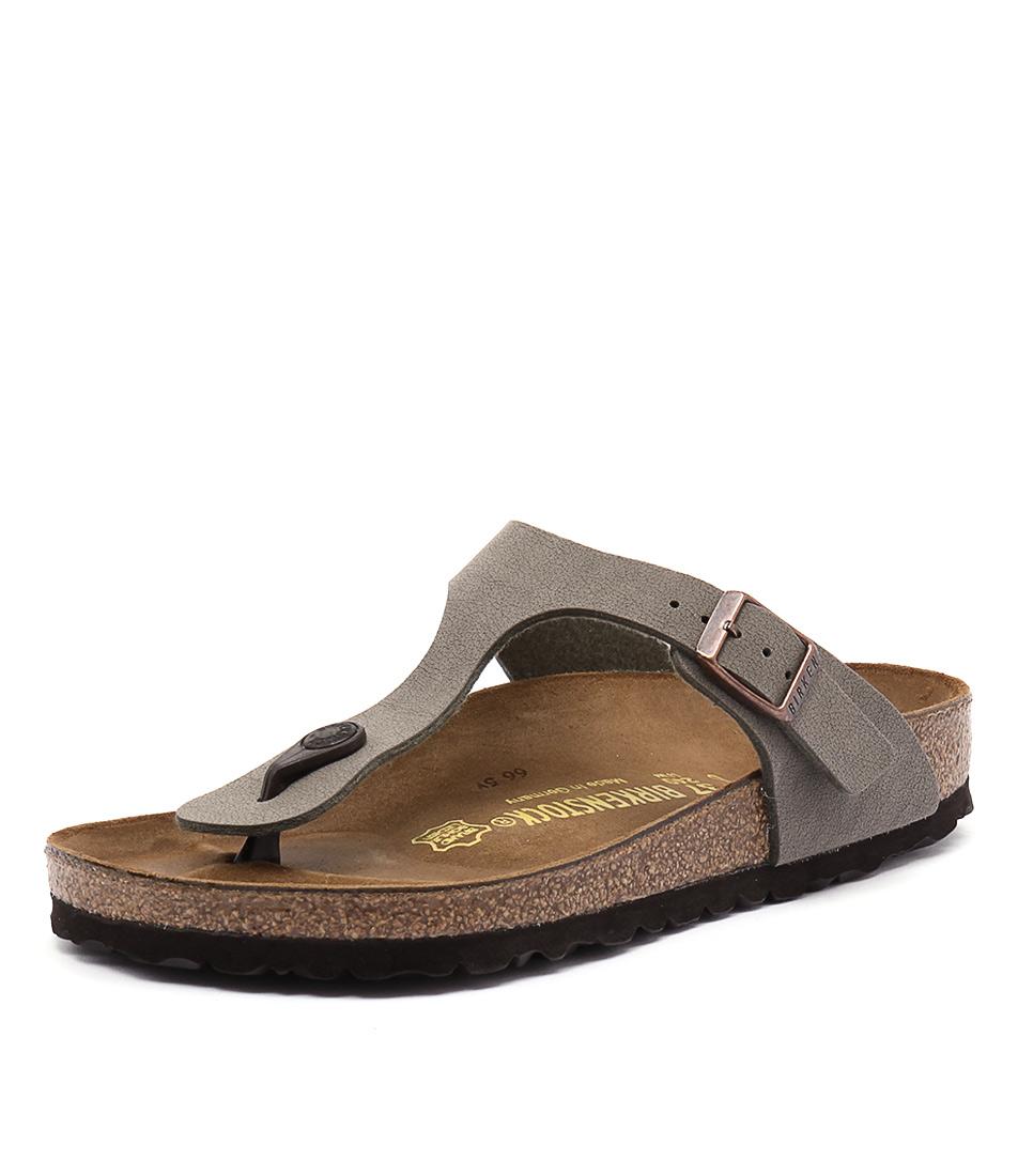 Birkenstock Gizeh Stone Birko-Flor Sandals