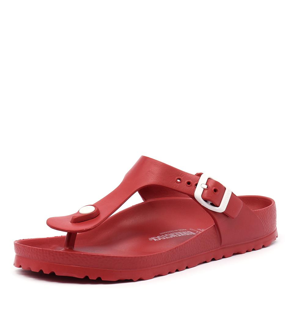 Birkenstock Gizeh EVA Red Sandals