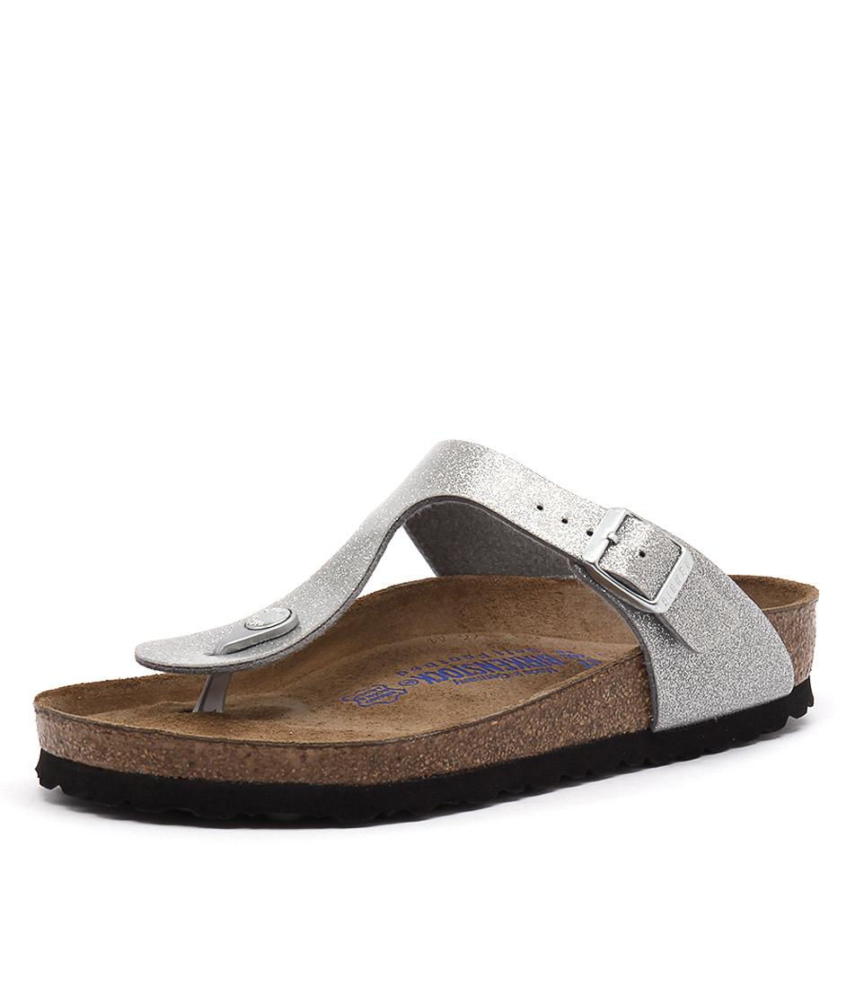 Birkenstock Gizeh Magic Galaxy Silver Sandals