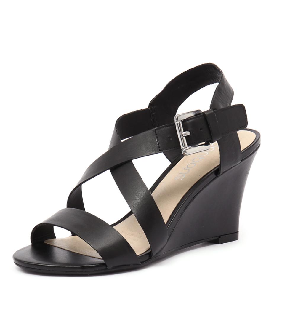 Bonbons Shimmer Black Sandals
