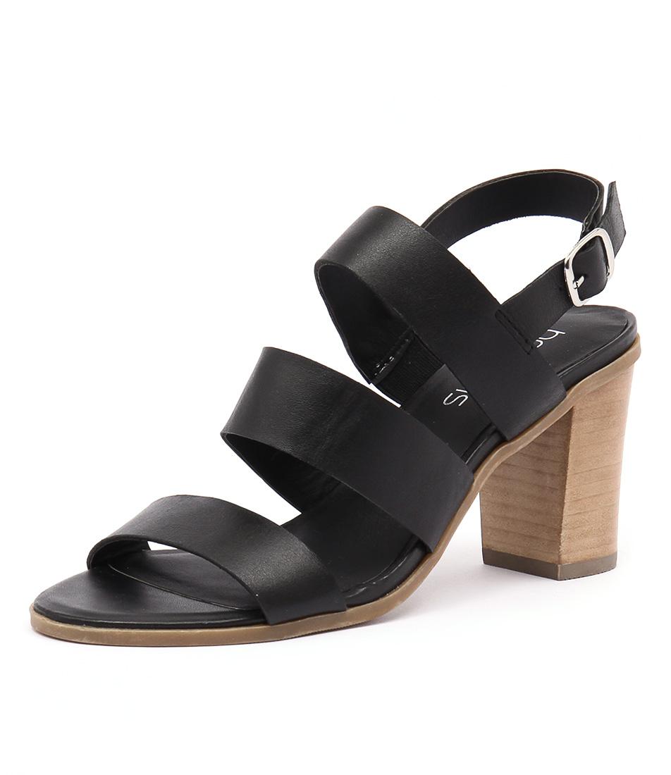 Bonbons Meeka Black Sandals