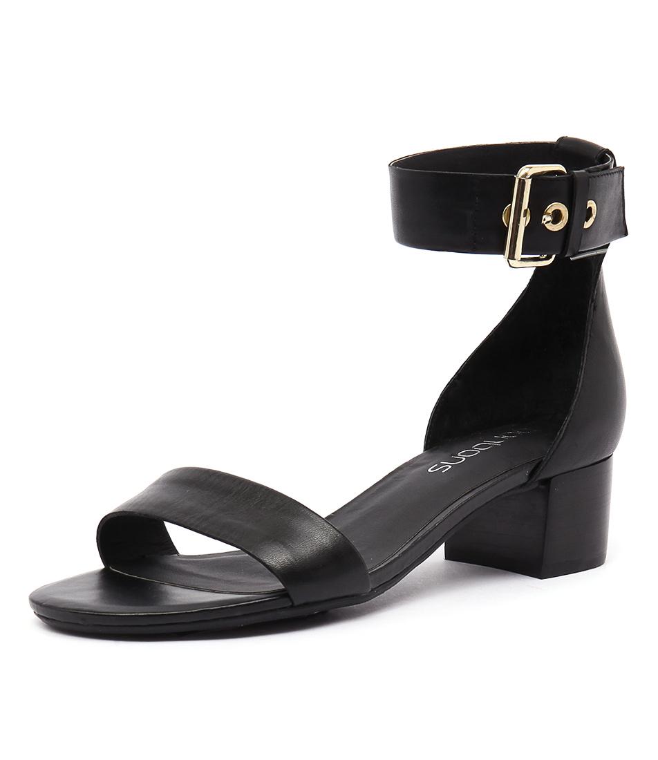 Bonbons Tulsa Black Sandals