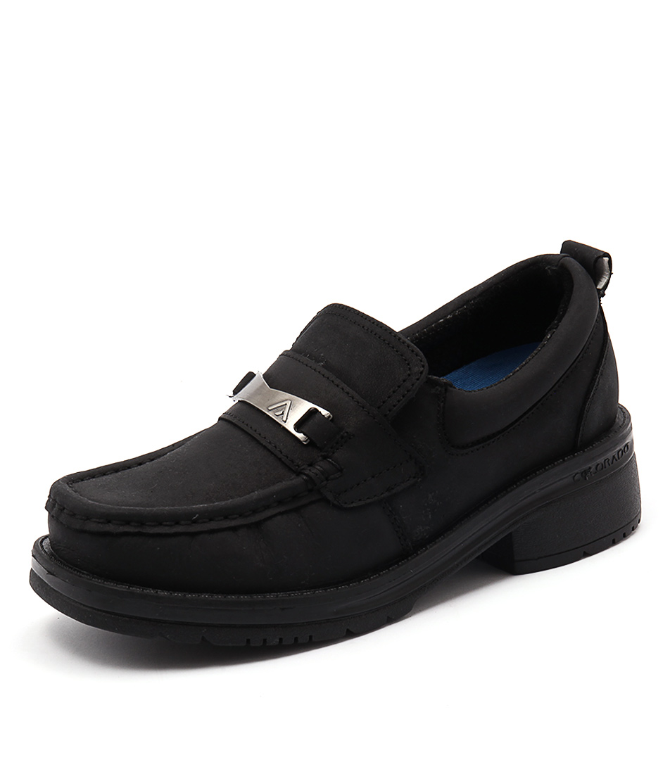 Colorado Abacus 2 Black Loafers