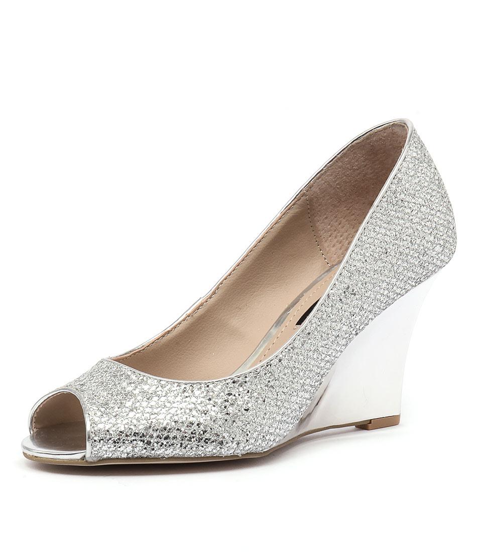 Diana Ferrari Saydie Silver Shoes