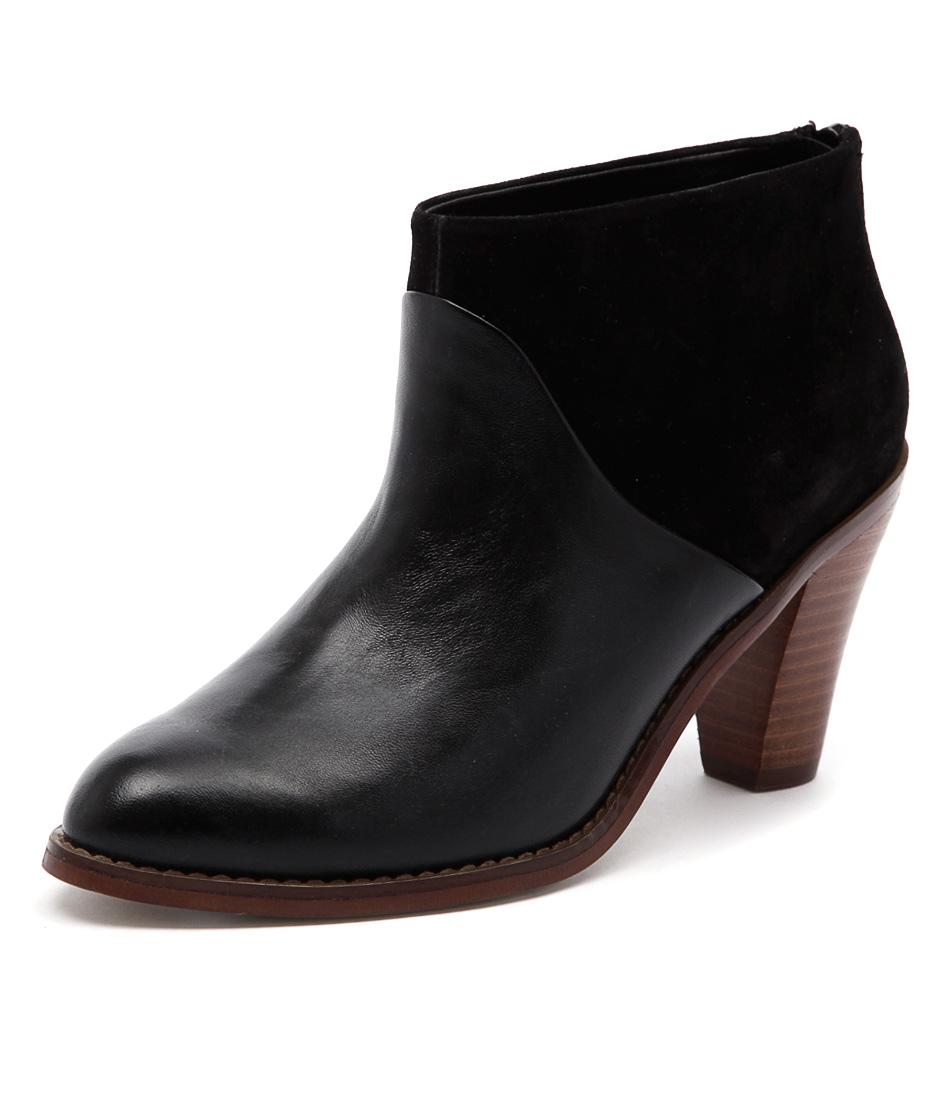 Diana Ferrari Rhinestone Black Boots