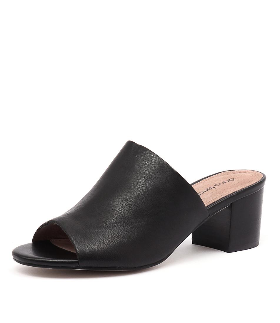 Diana Ferrari Asher Black Sandals