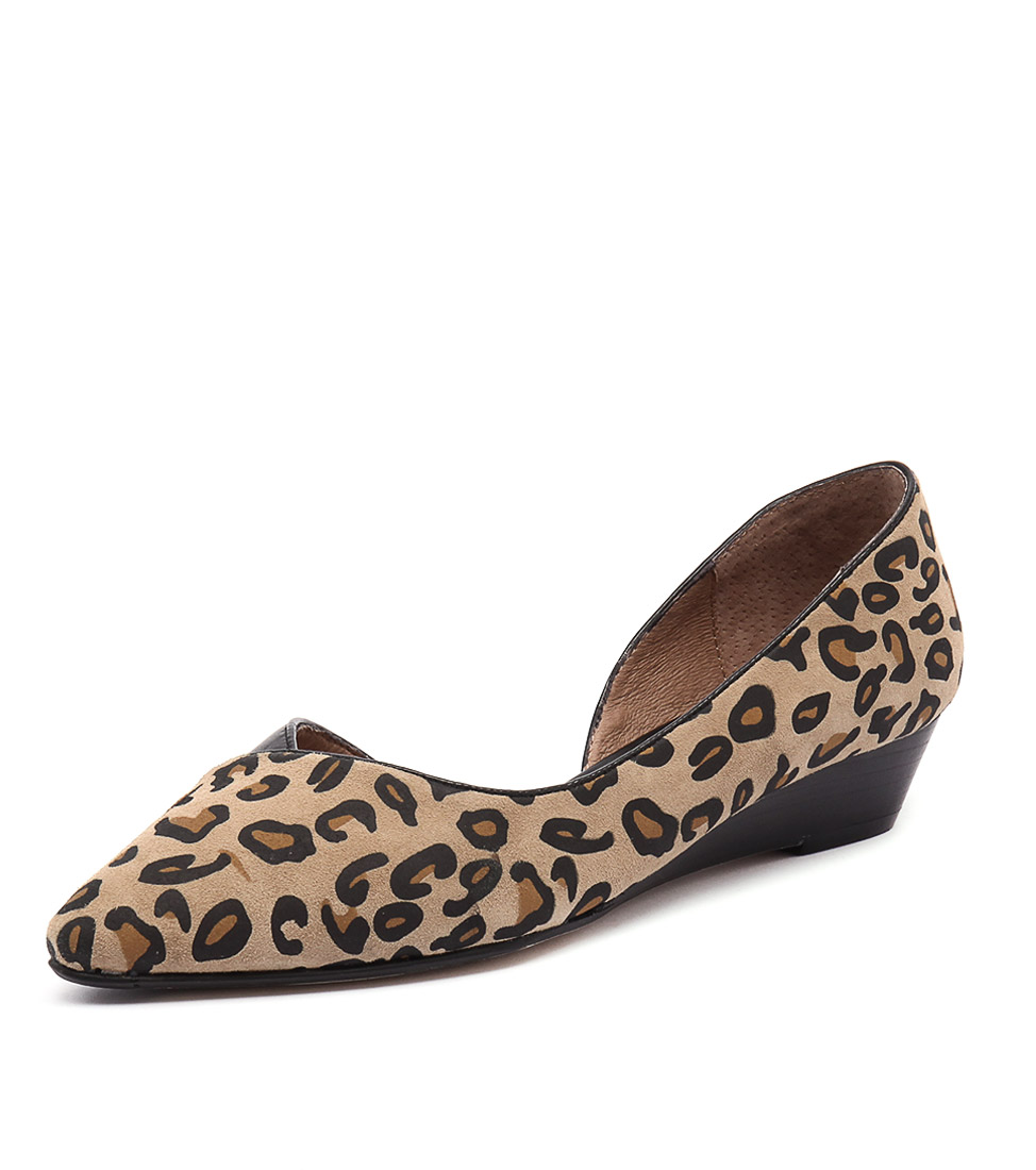 Diana Ferrari Prance Leopard Flats