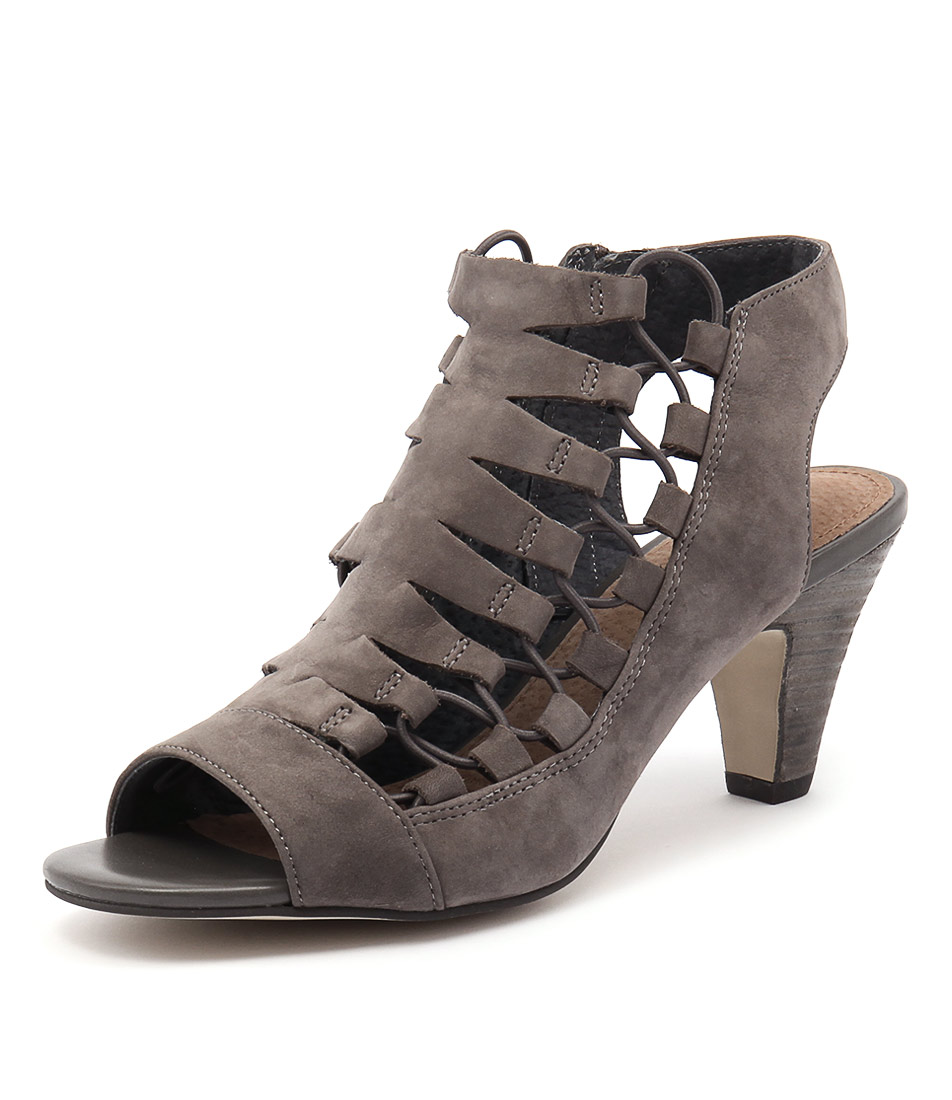 Diana Ferrari Rosee Dark Grey Sandals