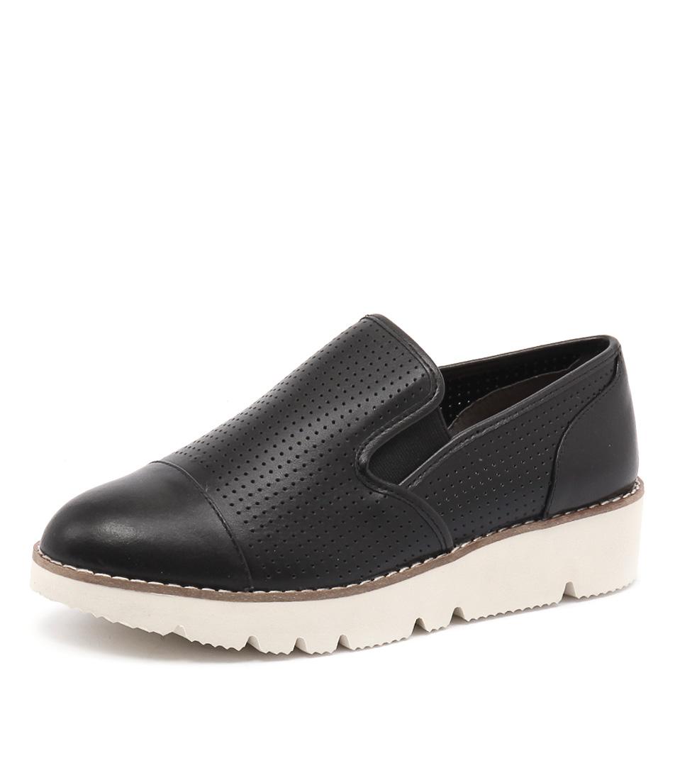 Diana Ferrari Balance Black Loafers