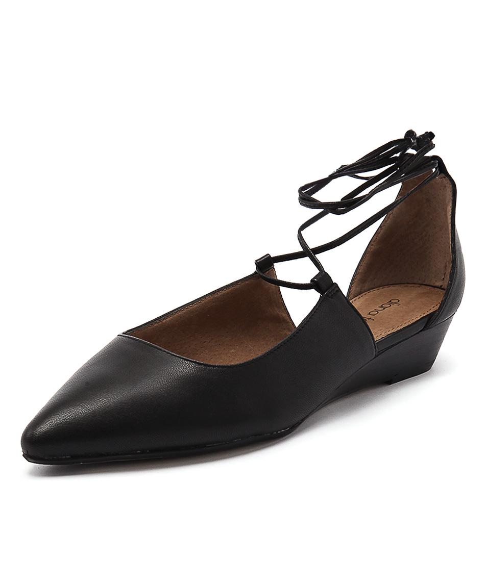 Diana Ferrari Prague Black Dress Pumps