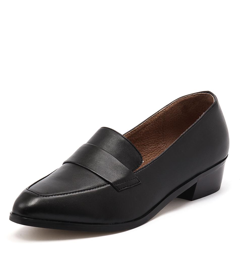 Diana Ferrari Anja Black Loafers