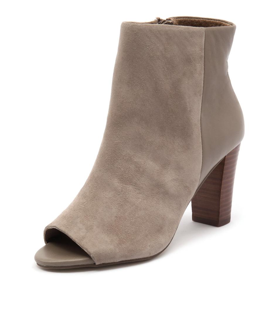 Diana Ferrari Nandi Mink Suede-Mink Boots