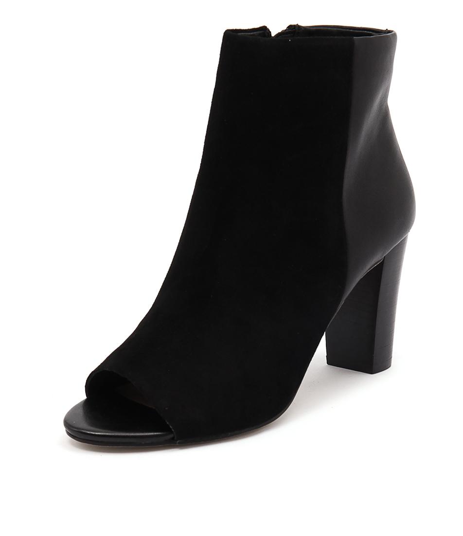 Diana Ferrari Nandi Black Suede-Black Boots