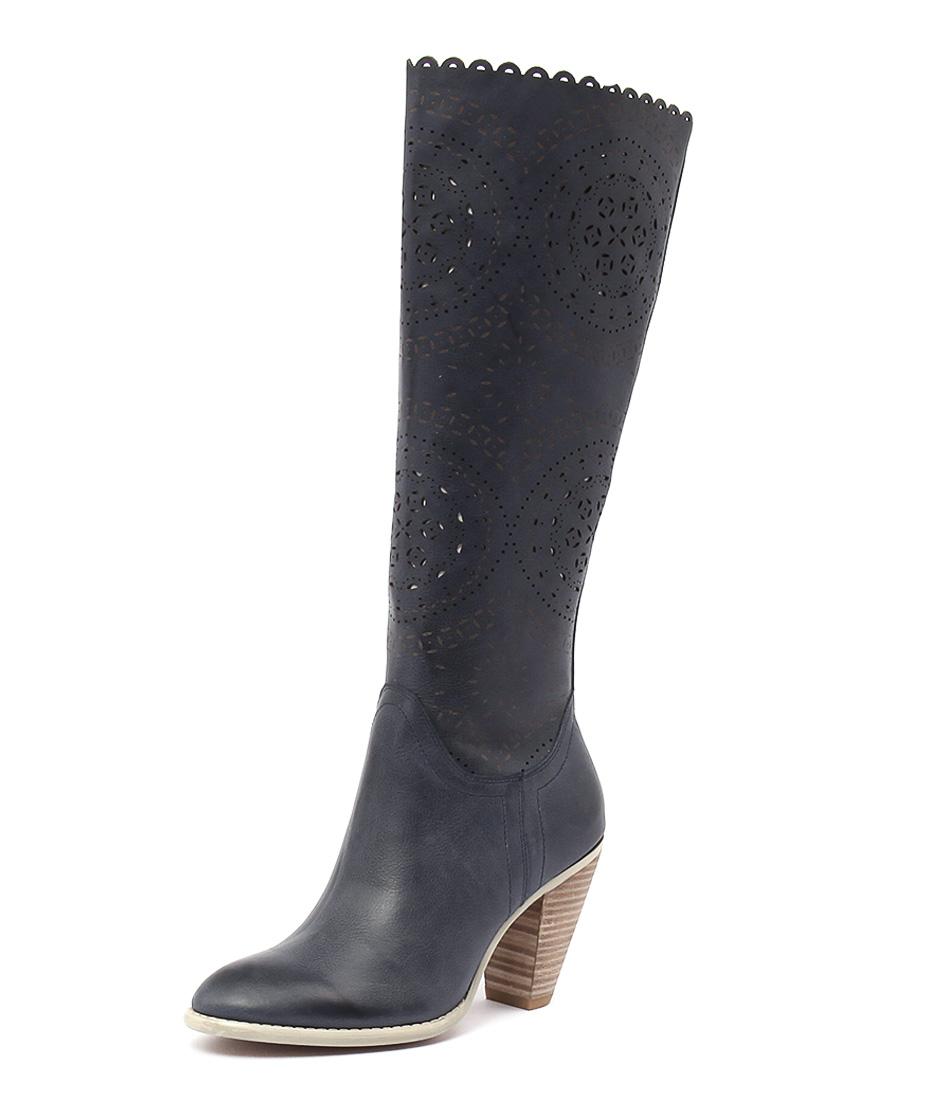 Django & Juliette Voss Blue Boots