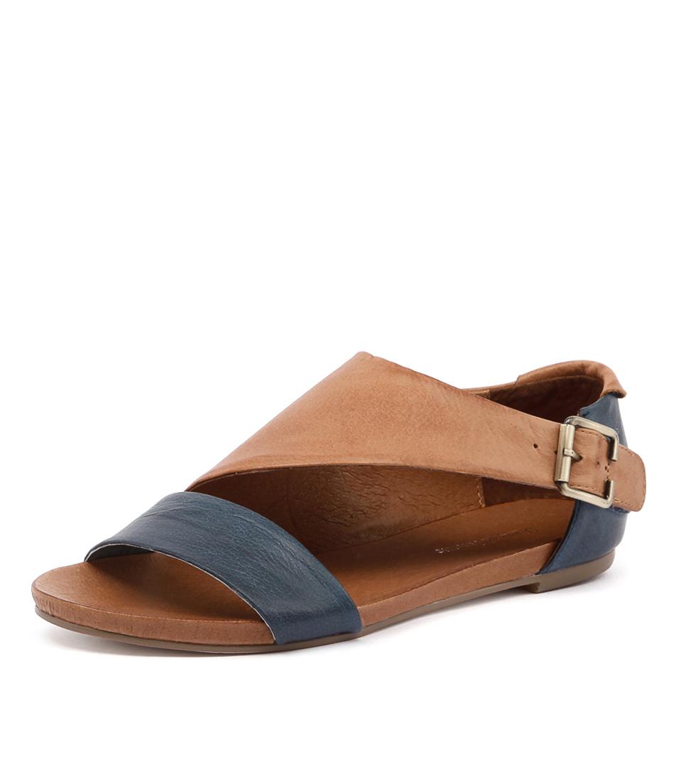 Django & Juliette Jimini Navy-Tan Sandals online