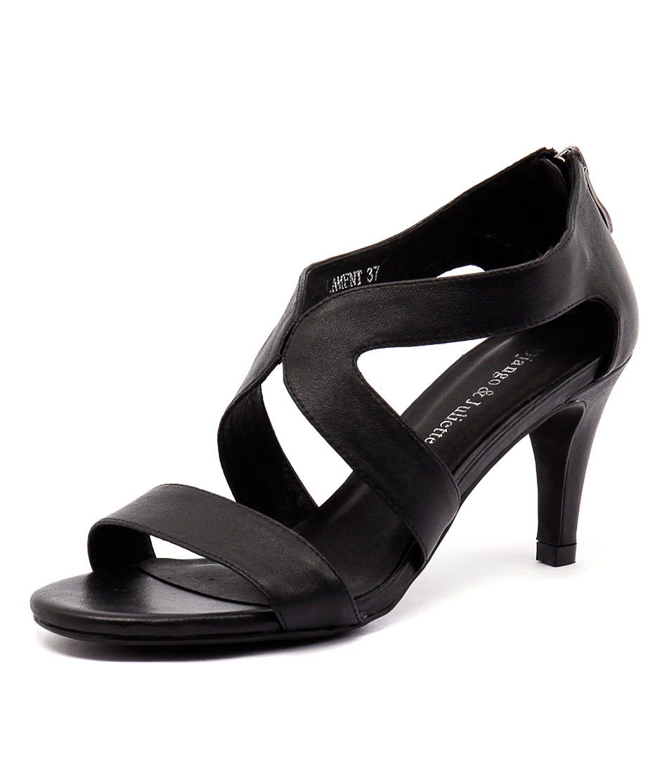 Django & Juliette Lament Black Sandals online