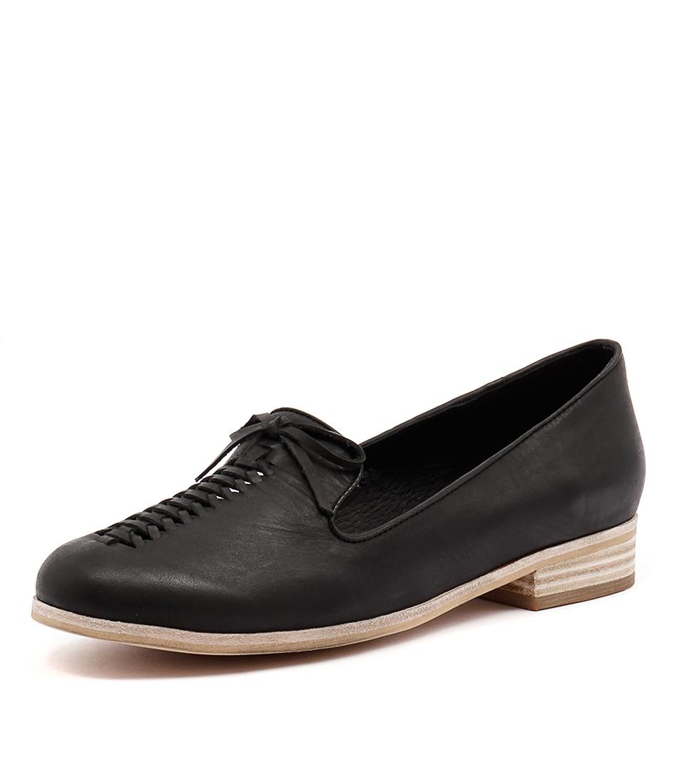 Django & Juliette Allstop Black Loafers & Slip-Ons
