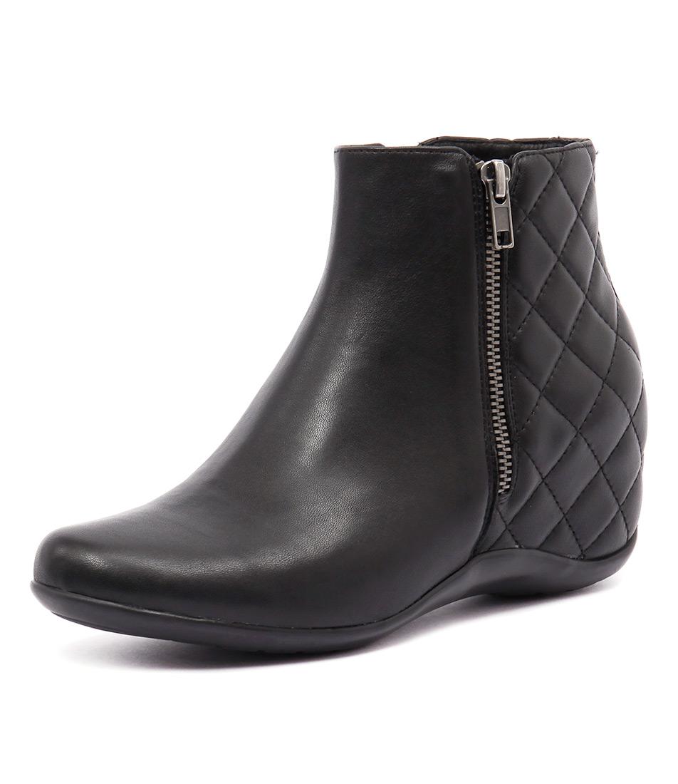 Django & Juliette Bernice Black Boots