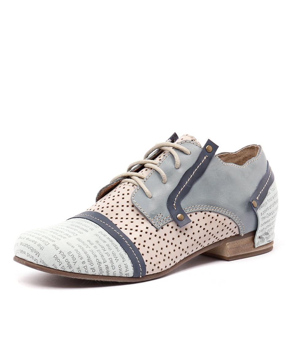 Django & Juliette Dashiel Blue Multi Shoes