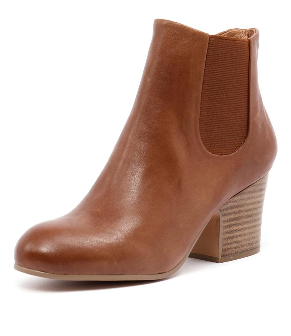 Django & Juliette Elkie Cognac Boots