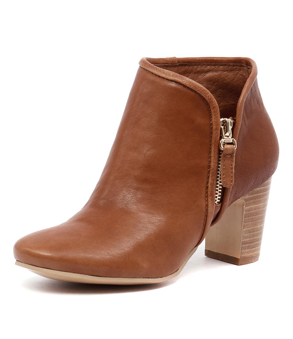 Django & Juliette Elurid Cognac Boots