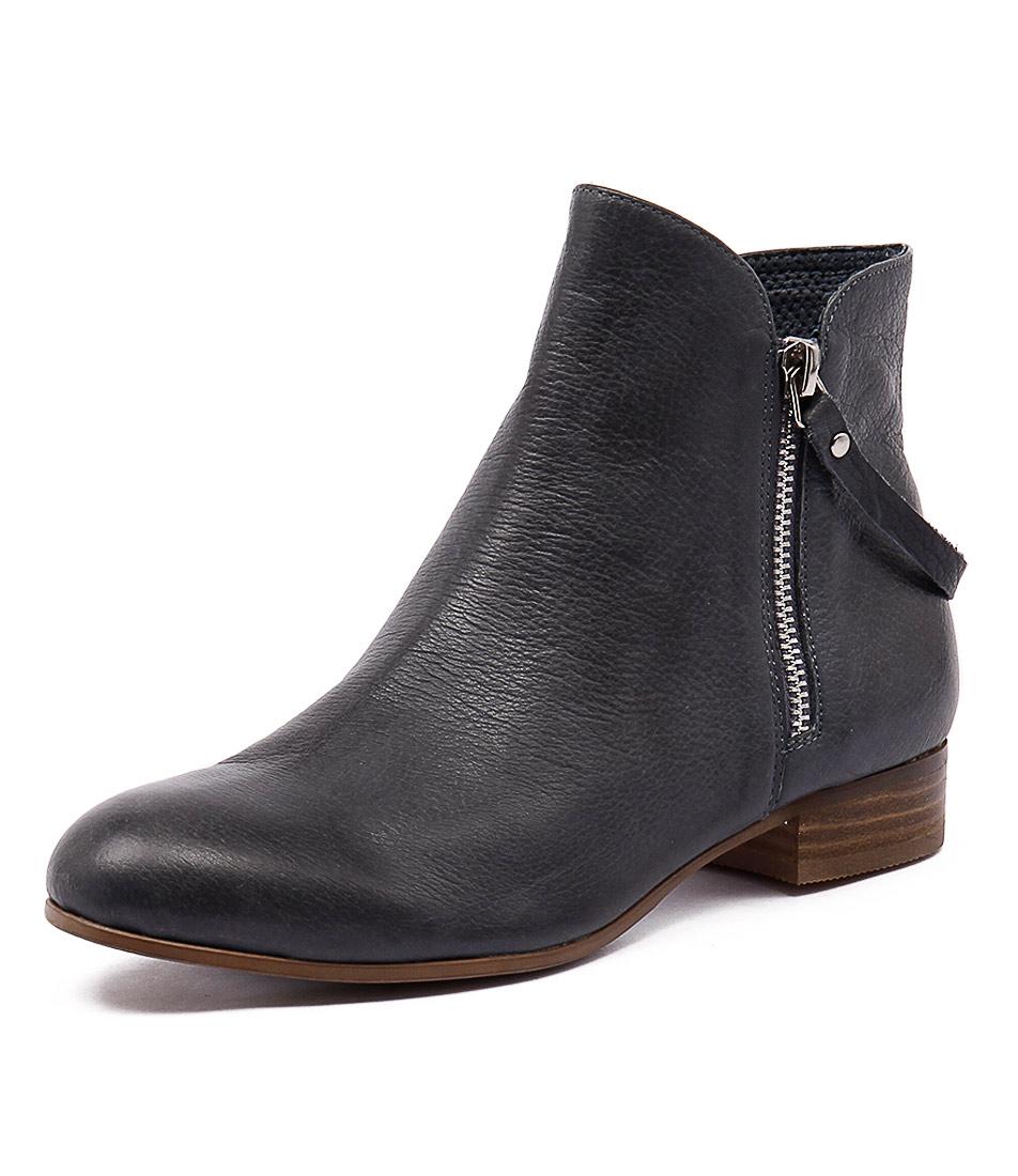Django & Juliette Fales Light Navy Boots online