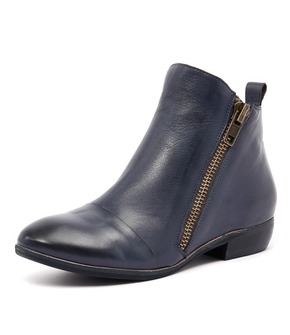 Django & Juliette Oba Light Navy Boots