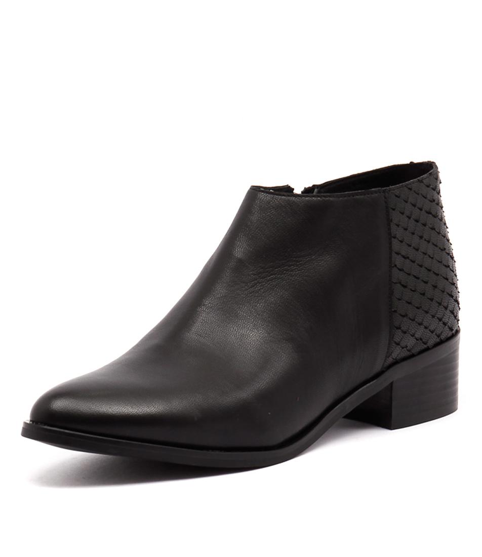 Django & Juliette Panama Black Boots