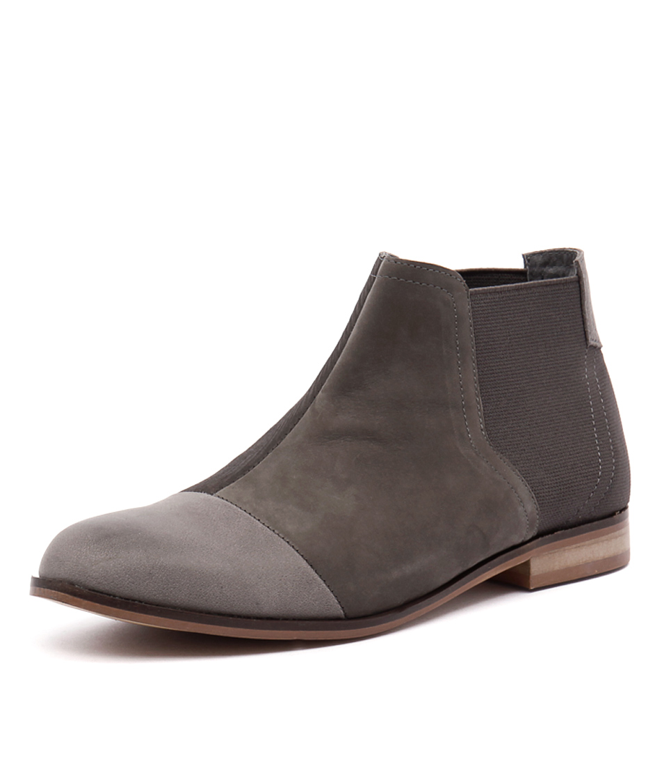Django & Juliette Pavel Charcoal Mix Boots