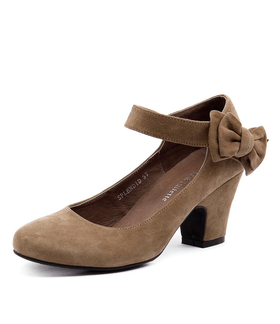 Django & Juliette Splendid Taupe Shoes