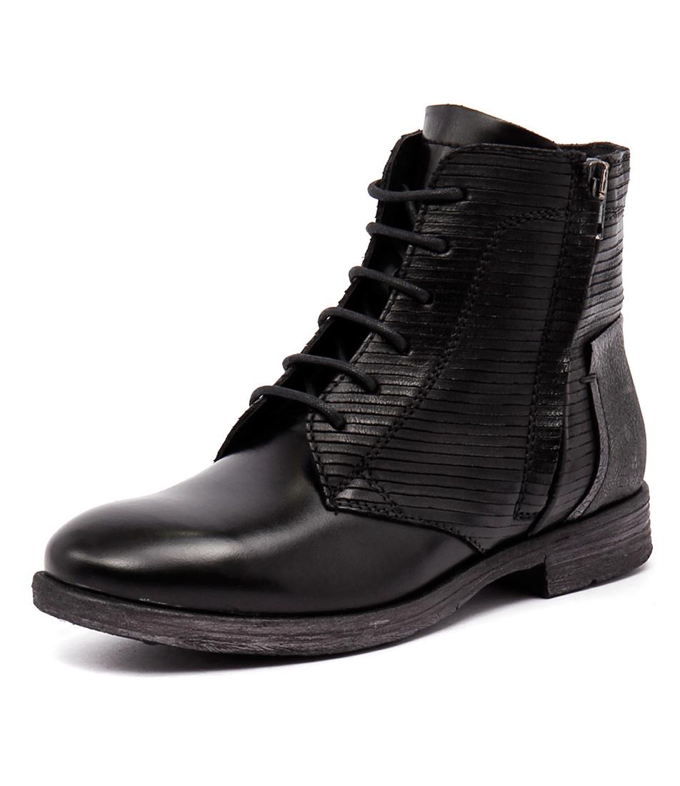 Django & Juliette Bily Black Boots online