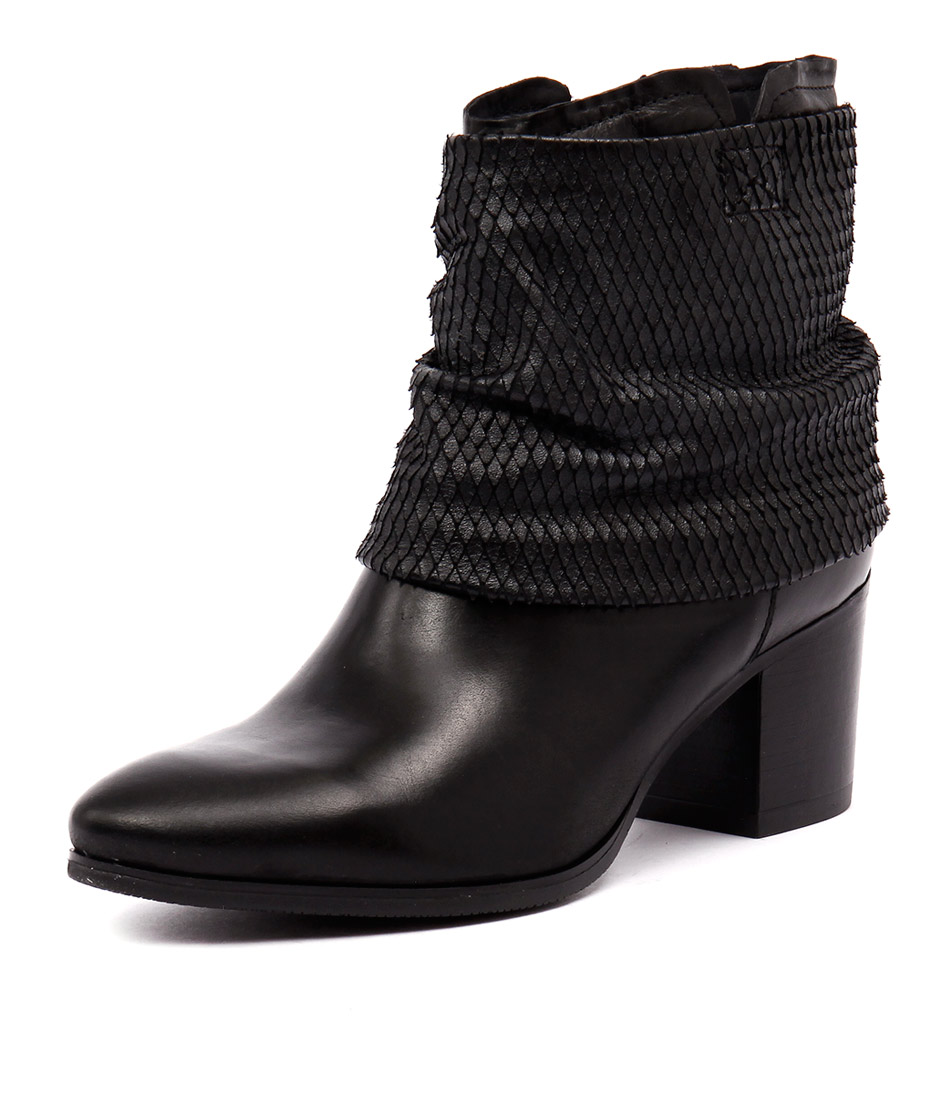 Django & Juliette Bettina Black Boots