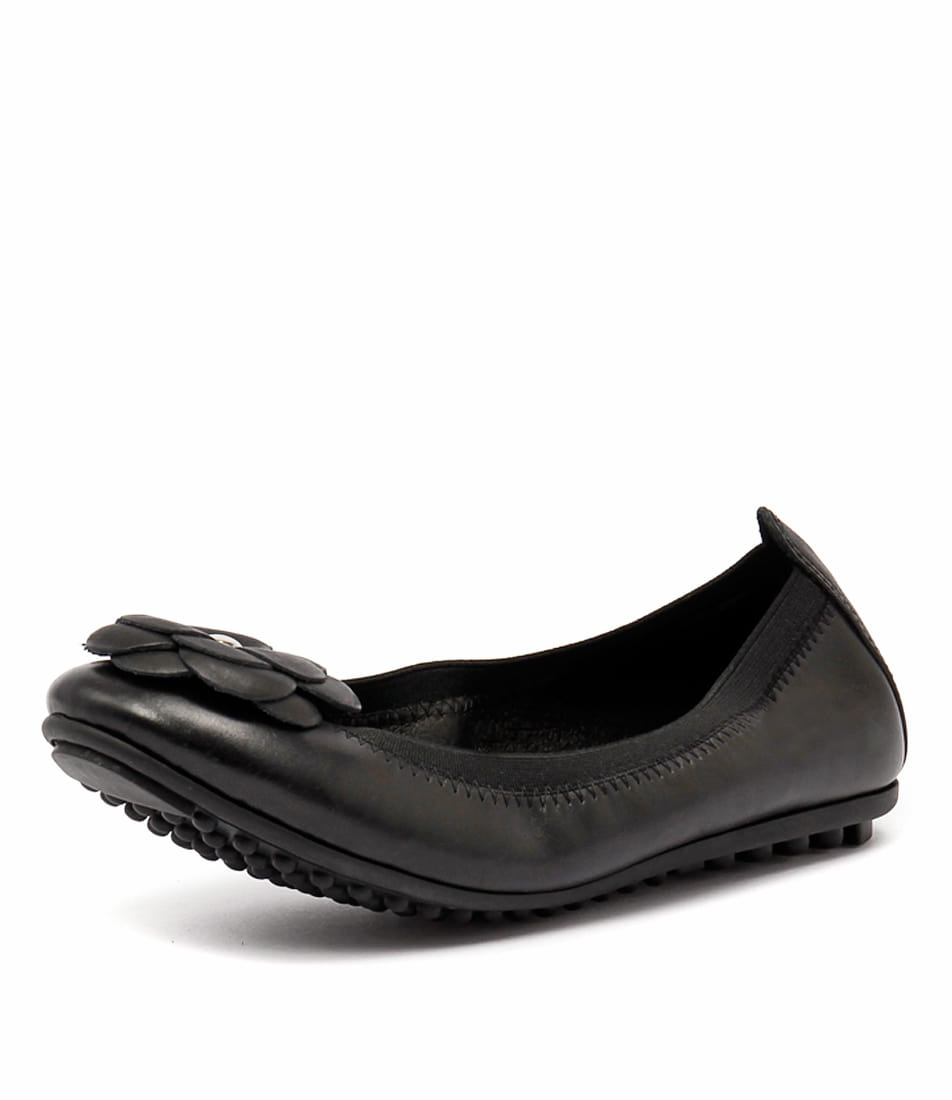 Django & Juliette Balus Black Leather Flats online