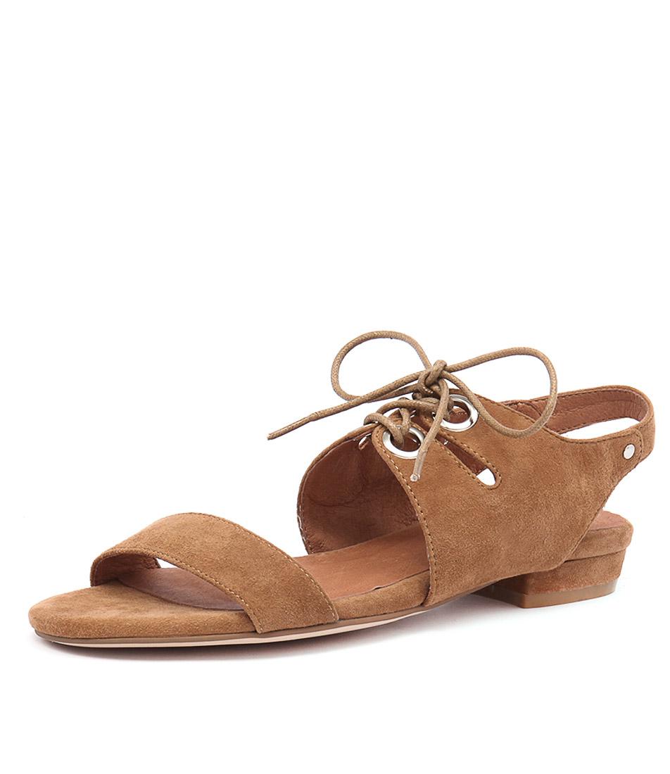 Django & Juliette Donside Tan Suede Sandals online