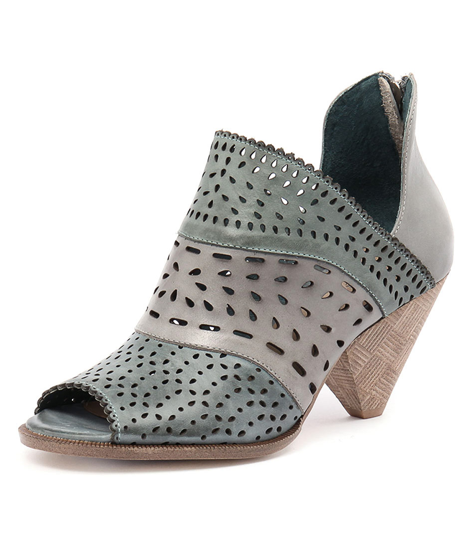Django & Juliette Ortam Ocean-Multi Leather Boots online