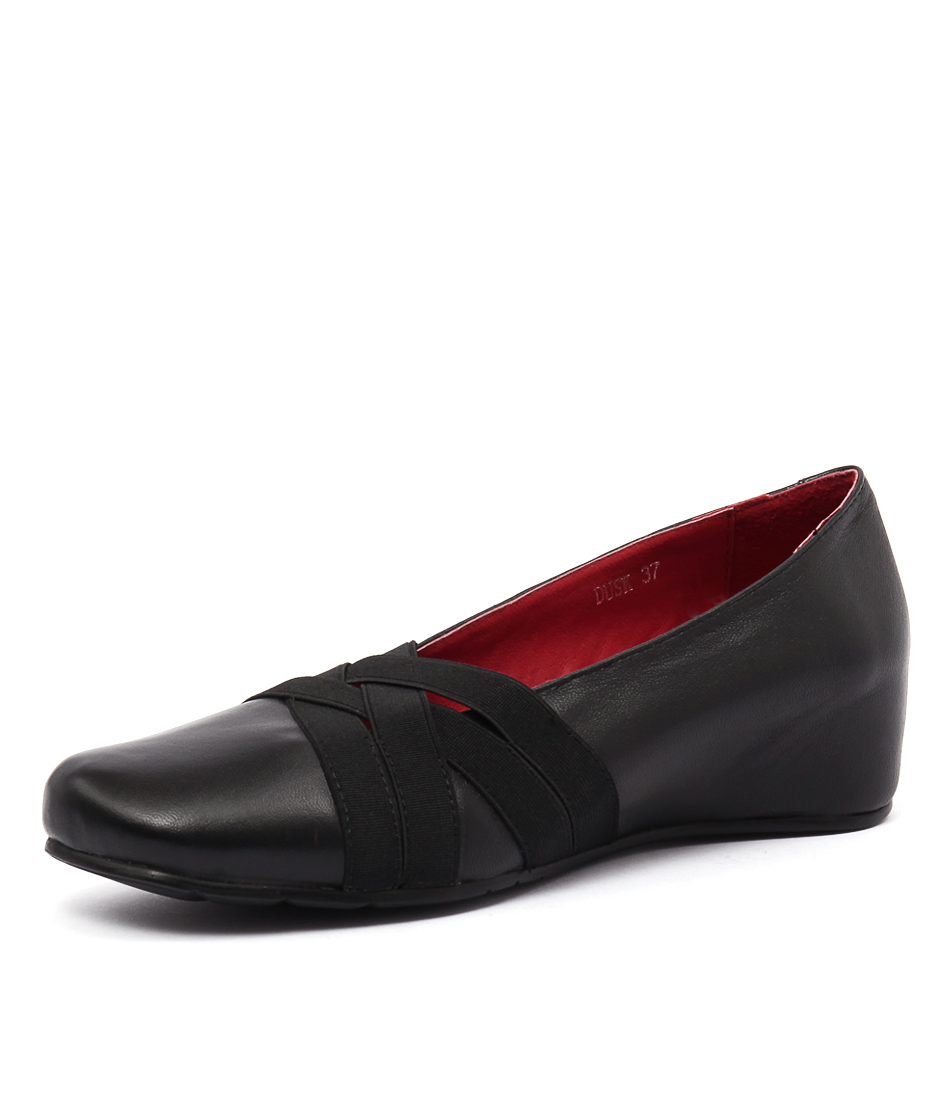 Django & Juliette Dusk Black Loafers