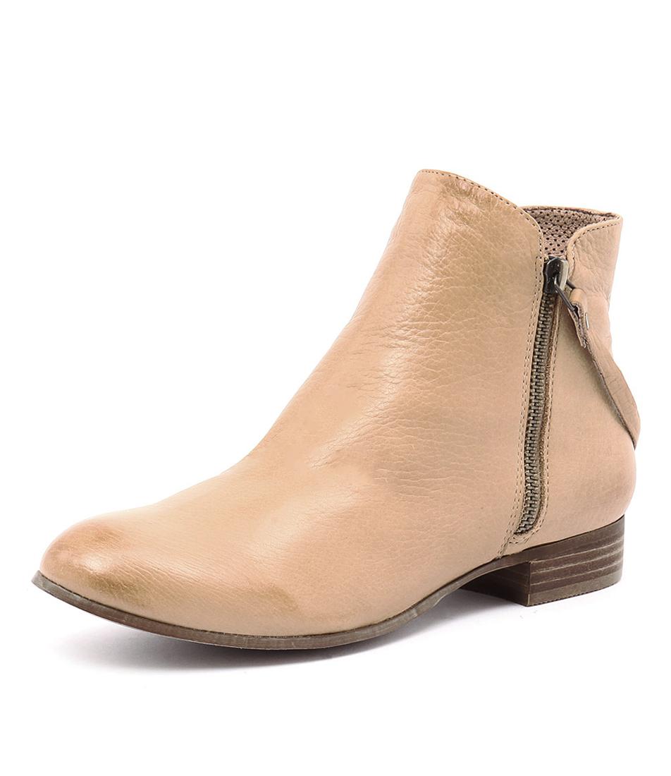 Django & Juliette Fales Camel Boots